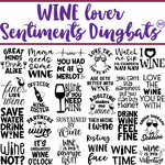 sg wine lover sentiments dingbats