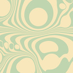 green and yellow marbled pattern