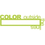 color outside the lines phrase