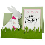 happy easter side step card