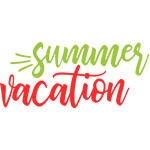 summer & vacation words