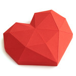low poly heart apply