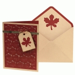 card set: pop up maple leaves