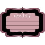 special day label
