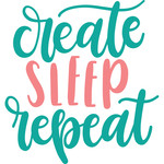 create sleep repeat
