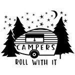 campers roll with it