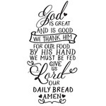 give us lord our daily bread