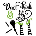 don't drink & fly