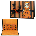 a2 pop up hallo-queen card