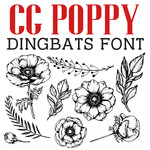 cg poppy dingbats