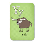 alphabet playing cards - y