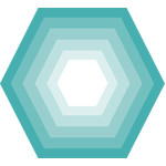 hexagon nesting shape
