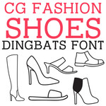 cg shoe fashion dingbats