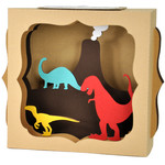 dinosaur gift card box
