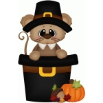 pilgrim mouse in hat pnc
