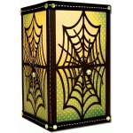 spider web flameless candle votive