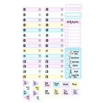 pastel dreams planning labels & flags kit