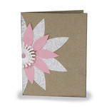 flower folded card