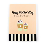 mother's day coffee card