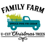 family farm christmas tree