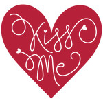 kiss me heart phrase