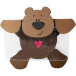 bear snack bag topper