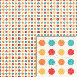 summer dots background paper