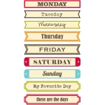 days of the week soup labels