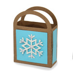 snowflake favor bag