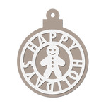 christmas ornament/ tag - gingerbread