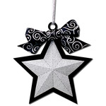 3d star ornament gift tag