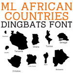 ml african countries dingbats