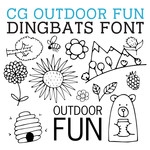 cg outdoor fun dingbats