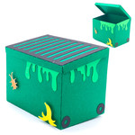 3d garbage dumpster box
