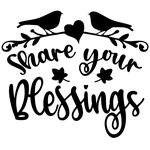 share your blessings