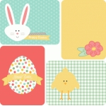 easter 3x4 journaling cards