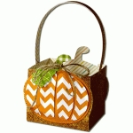pumpkin box with handle