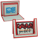 congrats step card