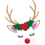 holiday rudolph reindeer