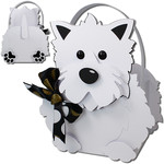 westie dog basket