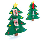 candy / pencil holder christmas tree card