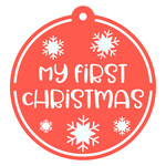 my first christmas tag