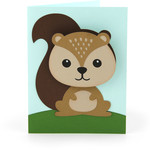 bobble head card squirrel