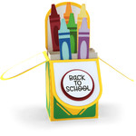 a2 box card crayons