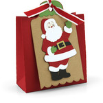 2 on 12x12 tag bag santa