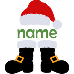 personalized name santa claus