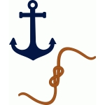 rope sailor & anchor