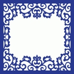 ornate scrollwork page frame