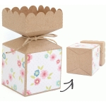 vertical scalloped candy box