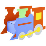 train toy match box